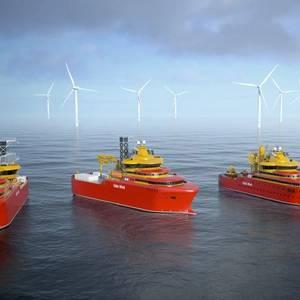 Østensjø Wins Long-Term Charters for Offshore Wind Vessel Duo