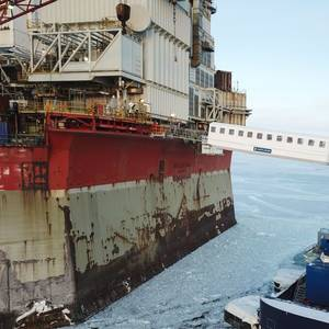 Ampelmann's Gangway for New Ice-Breaking W2W Vessel