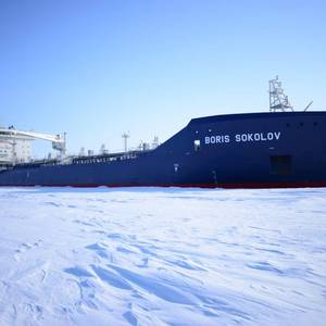 Aker Arctic's Icebreaking Ships Busy