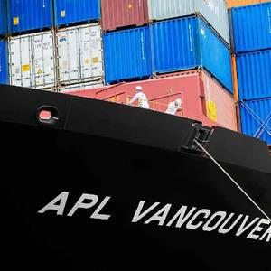 APL Vancouver En-route to Singapore