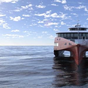 Austal Building 83m Trimaran Ferry for Japan