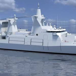 Damen, Luerssen to Build German Warships