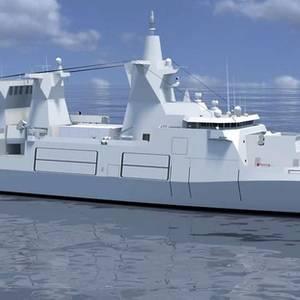 Damen, Luerssen to Build German Warships