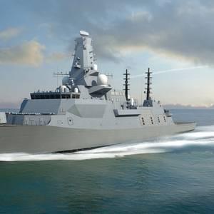 Steel Cut for UK's New Warship HMS Belfast