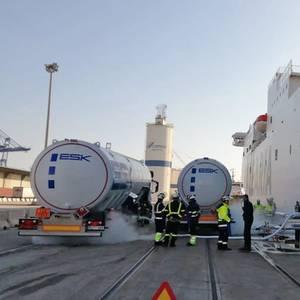 Baleària Ups LNG Bunkering in Valencia Port