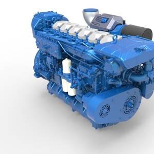 Trade School Gets Donated Marine Engines