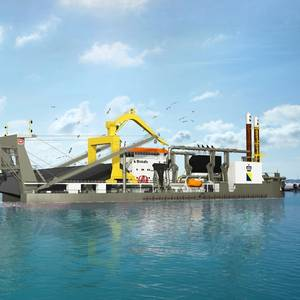 Boskalis Orders Self-propelled Mega Cutter