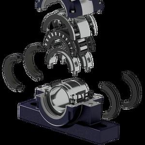 Bowman Debuts Higher Capacity Split Roller Bearing