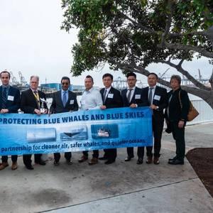 California: Encouraging Ships to Slow Down