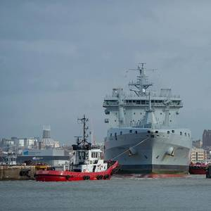 First RFA Tanker Arrives at Cammell Laird