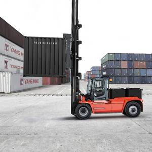 Kalmar Intros Electric Empty Container Handler