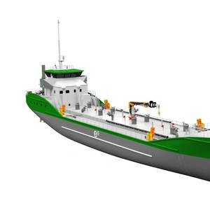 Ship Design: Meet the e5 Pure Electric Tanker