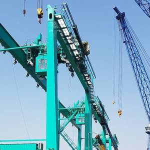 Corvus to Suppy Batteries for Hybrid Cranes