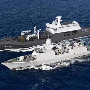 Dutch Combat Support Ship Takes Shape at Damen Galati