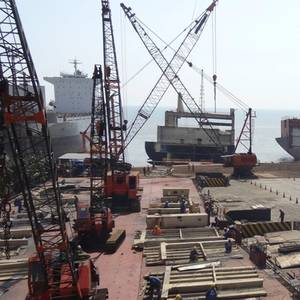 Ship Recycling Stymied by COVID Spread Through India