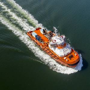 Kuwait Oil Company gets a new Oil Spill Recovery/Offshore Support Vessel