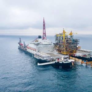 Gallery: Allseas Completes Tyra Removal Work Off Denmark