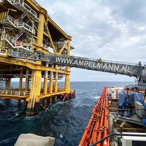Ampelmann Makes One Millionth Offshore Transfer in Middle East