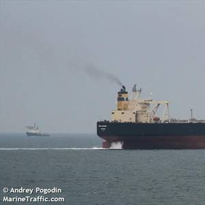 Fully Loaded Oil Tanker Catches Fire Off Sri Lanka