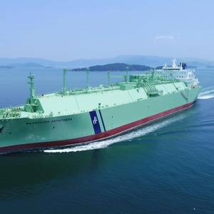 VIDEO: BW LNG Takes Delivery of BW Pavilion Aranthera LNG Carrier