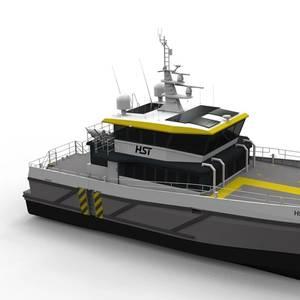 High Speed Transfers Orders Hybrid Crew Transfer Vessel