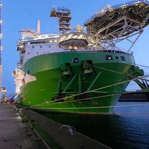 VIDEO: Crane Collapses on Deme Offshore's New Vessel
