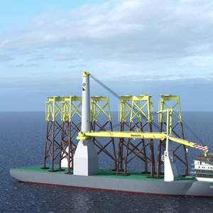 Drydocks World Starts Bokalift 2 Conversion for Boskalis