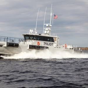 Southwest Alaska Pilots Take Delivery of Gladding-Hearn Pilot Boat