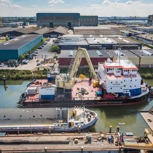 Kooiman Marine Completes Vessel Conversion for Van Stee Offshore
