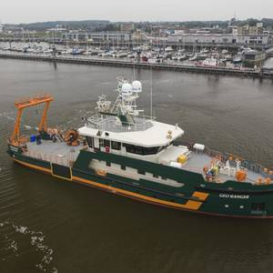 Geo Plus Takes Delivery of New Survey Vessel