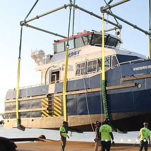 USA: Orsted-bound Windserve Odyssey CTV Hits the Water