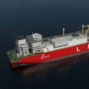 Wison Offshore & Marine's LNG Carrier Design Gets DNV GL AiP