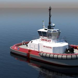 Crowley to Build and Operate Fully Electric Tugboat