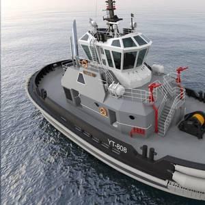 Furuno Equips New US Navy Tug