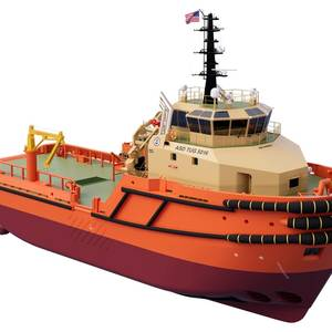Chouest to Build Damen-designed Tug Pair