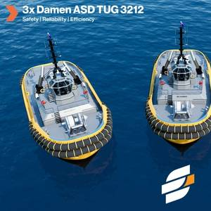 Engage Marine Orders Three Tugs from Damen