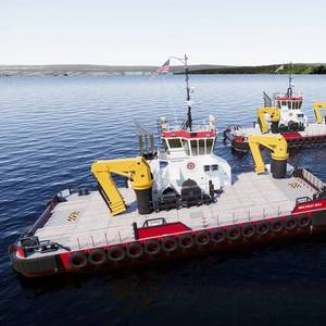 Conrad to Build Damen Multi Cats for Great Lakes Dredge & Dock