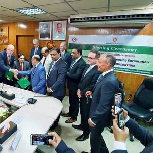 Damen Joins Bangladesh Shipbuilding Initiative