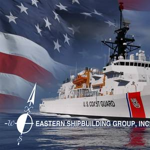 Eastern Lays Keel for OPC USCGC Argus