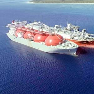 Excelerate, Equinor Perform First STS LNG Transfer