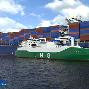 Gas Entec Wins Asia's Largest LNG Bunkering Vessel Gig