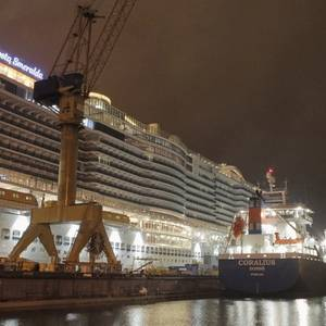 Gasum Makes its 1st Cruise Ship STS LNG Bunkering