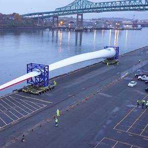 GE Haliade-X 12MW Blade Arrives in US