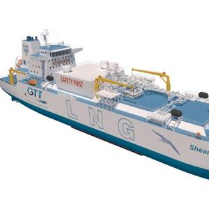 Ballast-water-free LNG Bunker & Feeder Vessel Granted AIP