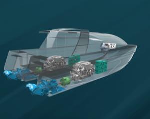 HamiltonJet Unveils Electro-Hybrid Drive (EHX)
