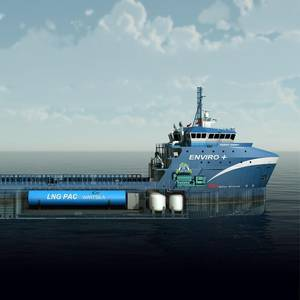 Fourth LNG-powered OSV for Harvey Gulf