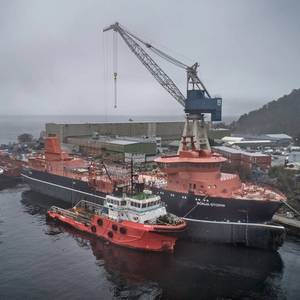 Largest Wellboat Hull Arrives Norway Yard