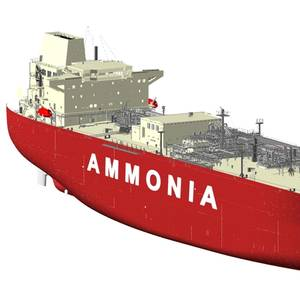 HHI & KSOE Receive AIP for Ammonia Carrier