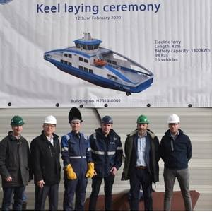Holland Shipyards to Build Electric Double-Ender Ferry