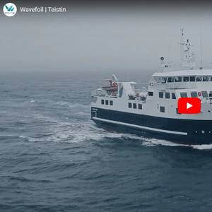 Ferry Tech: Retractable Bow Foils for M/F Teistin